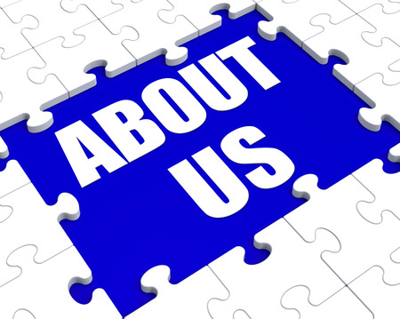about us: About Us Puzzle Showing Company Profile And Information