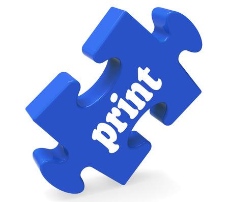 copying: Print Key Showing Printing Copying Or Printout Stock Photo