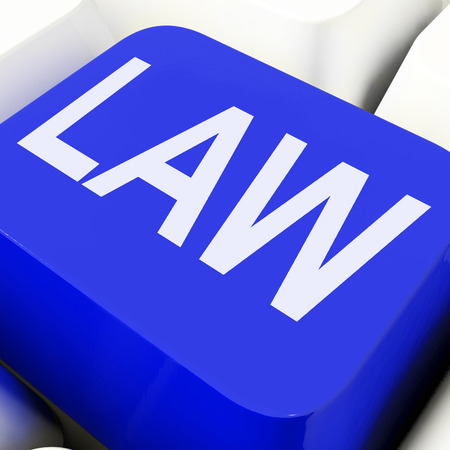 lawfulness: Law Keys Showing Legal Court Or Judicial