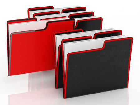Files Meaning Organising Documents Filing And Paperwork Stock Photo