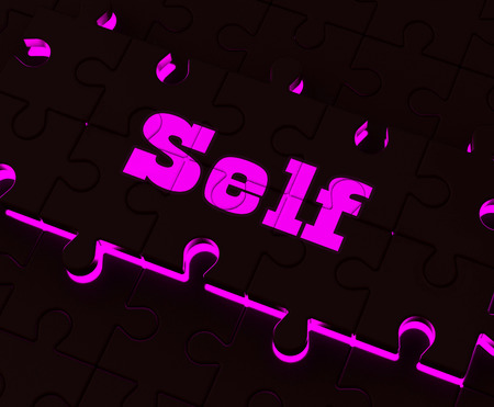 self respect: Self Puzzle Showing Believe Me My Yourself Or Myself