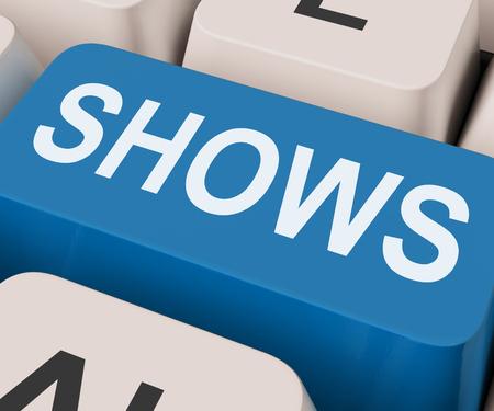 expositor: Muestra Tecla Significado Musicales Entretenimiento O Teatro