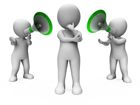 loudhailer: Personaje piensa o confundido al obtener Opiniones