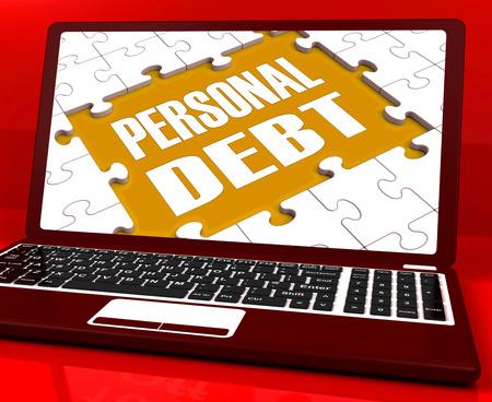 indebtedness: Debito Laptop Personal Mostro ipoteca povert� e Prestiti