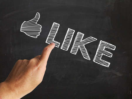 Thumbs Up Like Showing Follow Or Social Media LIkes