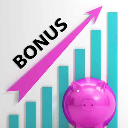 incentives: Bonus Graph Showing Incentives Rewards And Premiums
