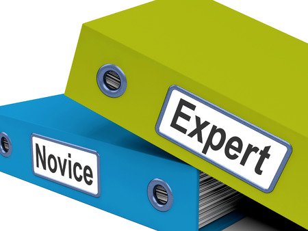 novice: Expert Novice Folders Meaning Learner And Advanced