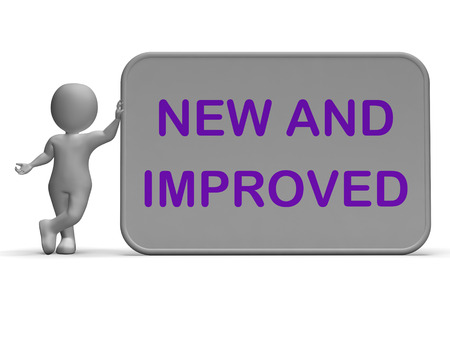 new and improved: New And Improved Sign Meaning Upgrade Or Recent Development