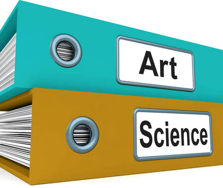 humanities: Art Science Folders Meaning Humanities Or Sciences