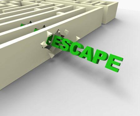 jailbreak: Escape From Maze Shows Jailbreak Or Escape