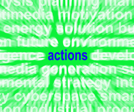 manner: Actions Word Showing Behaviour Manner And Conduct
