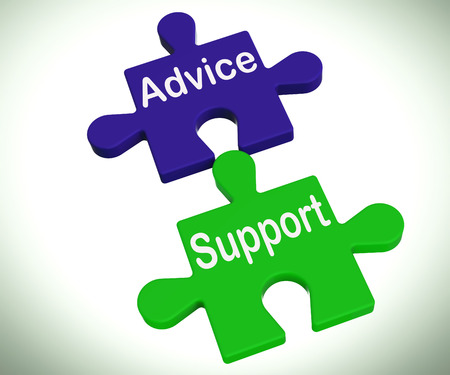 Advice Support Puzzle Meaning Help Assistance And FAQ