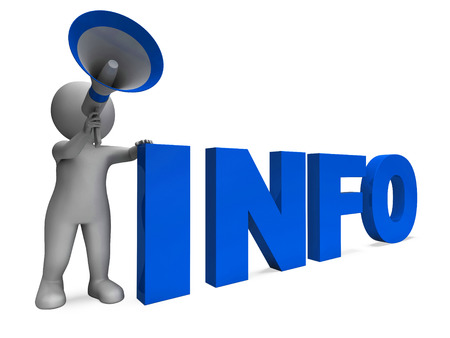 inform: Info Announcement Showing Information Inform And Faq