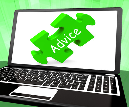 advising: Advice Laptop Meaning Guidance Advising Or Suggest