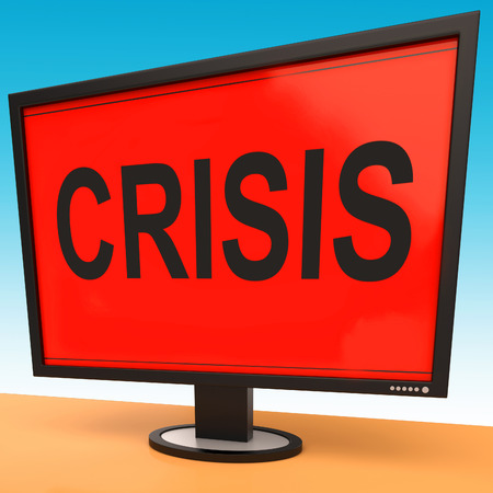 calamity: Crisis Monitor Meaning Calamity Trouble Or Critical Situation