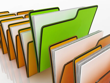 organizing: Files Means Organizing Documents Filing And Paperwork Stock Photo