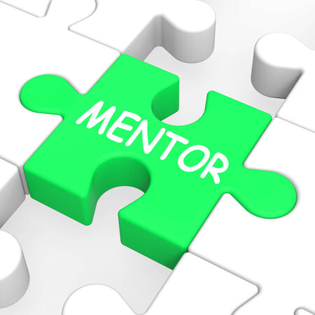 mentors: Mentor Puzzle Showing Mentoring Mentorship And Mentors