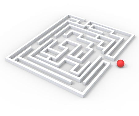 puzzling: Challenging Maze Shows Complexity Obstacles And Challenges