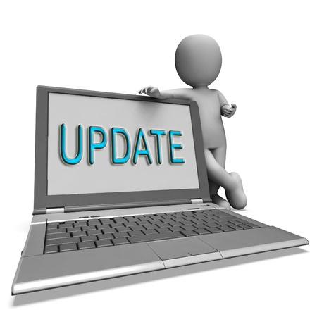 amend: Update Laptop Meaning Updating Modified Or Upgrading