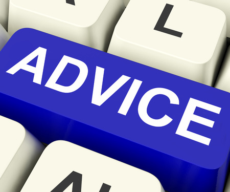 counsel: Advice Key On Keyboard Meaning Recommend Suggest Or Counsel