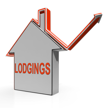 residency: Lodgings House Showing Accommodation Or Residency Vacancy