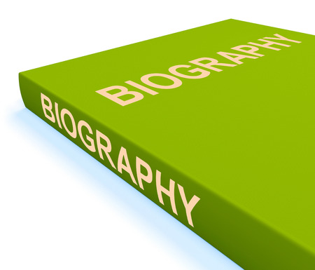 biography: Biography Book Showing Books About A Life