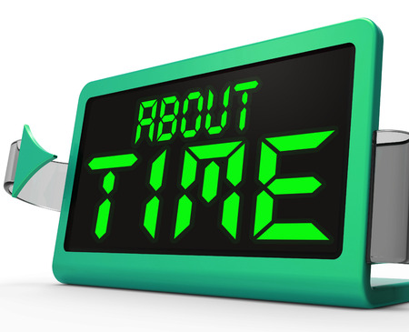 tardiness: About Time Clock Showing Late Or Overdue