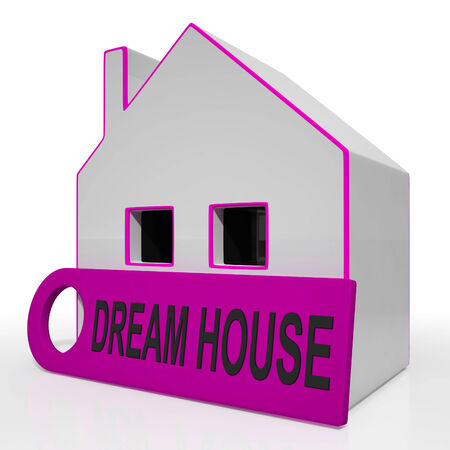 droomhuis: Dream House Thuis Toont aankoop of Construct perfecte woning