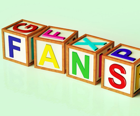 followers: Fans Blocks Meaning Followers Supporters And Admirers