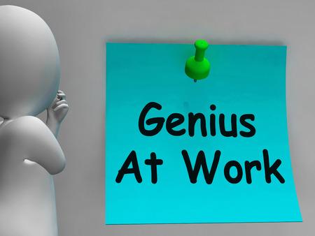 perito: Genio en el trabajo Significado No molestar
