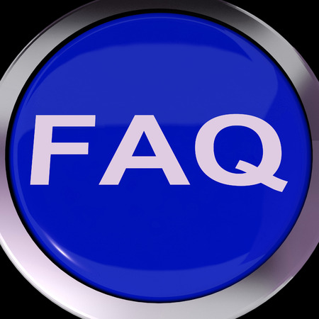 frequently asked question: FAQ Button Showing Frequently Asked Question