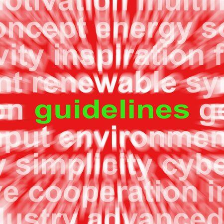 protocols: Istruzioni Significato orientamenti Word protocolli e le Regole di base