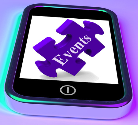 upcoming: Events Smartphone Meaning Up-Coming Functions And Calendar