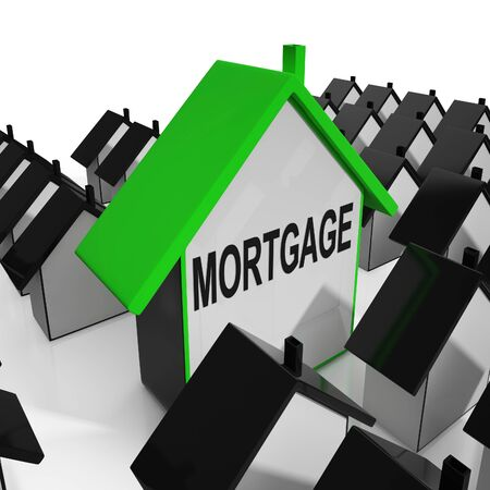 Mortgage House Meaning Debt And Repayments On Property photo