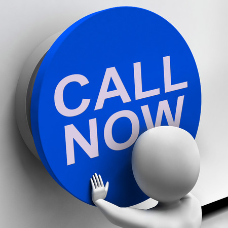 Call Now Button Showing Assistance And Support Center photo