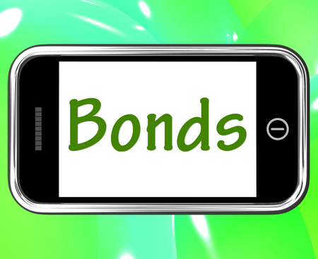 affiliation: Bonds Smartphone Meaning Online Business Connections And Networking Stock Photo