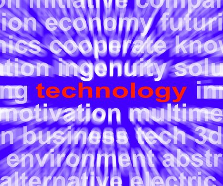 Technology Meaning Technological Developments Advances And Evolutions photo
