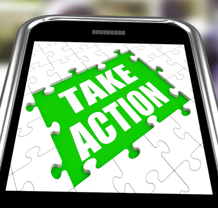 urge: Take Action Smartphone Meaning Urge Inspire Or Motivate