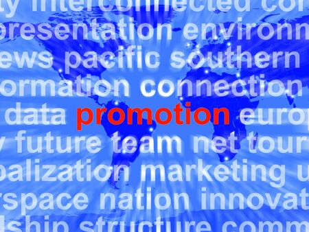 markdown: Promotion Word Cloud  Showing Discount Bargain Or Markdown