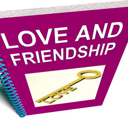 affinity: Love and Friendship Book Representing Keys and Advice for Friends