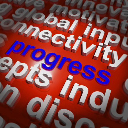 maturity: Progress Word Cloud Meaning Maturity Growth  And Improvement