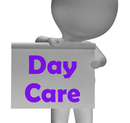 early childhood: Day Care Sign Meaning Early Childhood Center