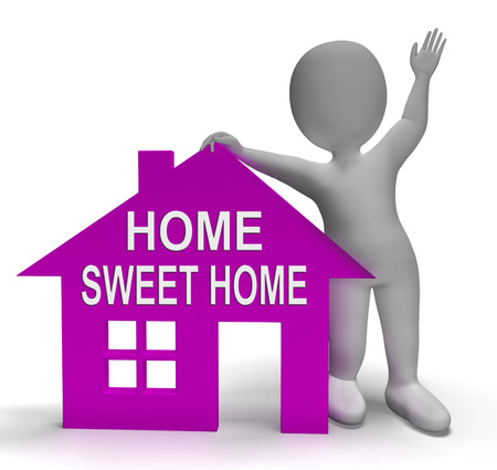 familiar: Home Sweet Home House Showing Familiar Cozy And Welcoming