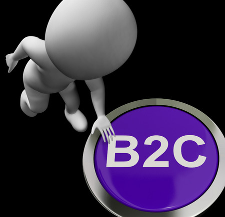 b2c: B2C Button Showing Company Customers And Trading