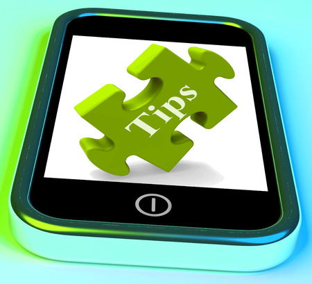 hints: Tips Smartphone Meaning Online Hints And Suggestions
