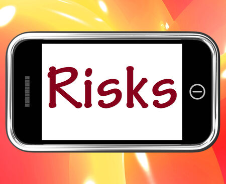 unpredictable: Risks Smartphone Meaning Investing Online Profit And Loss