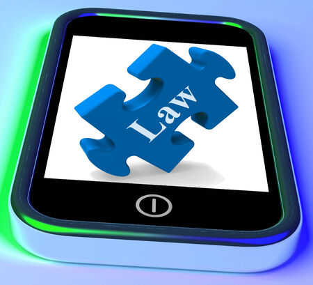 lawfulness: Law Smartphone Meaning Legislation And Justice Information Online