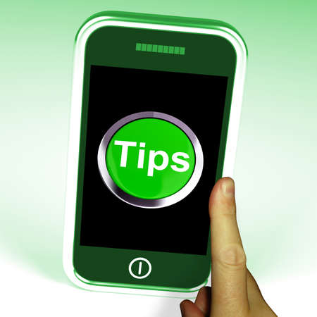 hints: Tips Smartphone Meaning Internet Hints And Suggestions