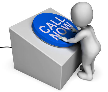 inquiries: Call Now Button Meaning Hotline Or Inquiries