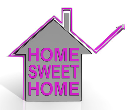homely: Home Sweet Home House Meaning Homely And Comfortable